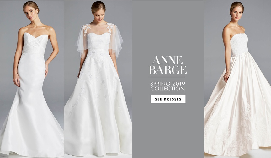 Anne Barge Spring 2019 bridal collection wedding dress bridal gowns