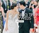 should you write a will after getting married? estate planning tips for newlyweds
