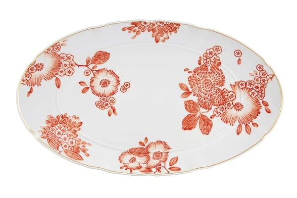 Coralina by Oscar de la Renta for Vista Alegre oval platter XI