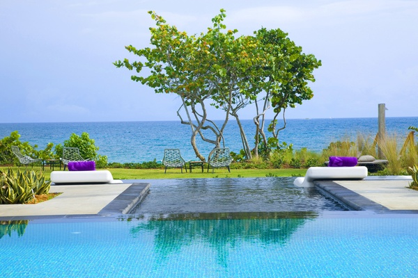 WET oceanfront pool at W Retreat & Spa, Vieques Island
