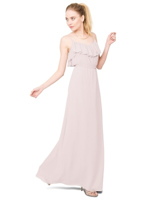The ruffle-bibbed Shauna dress brings lightness and ease to the collection, and is perfect for a fem