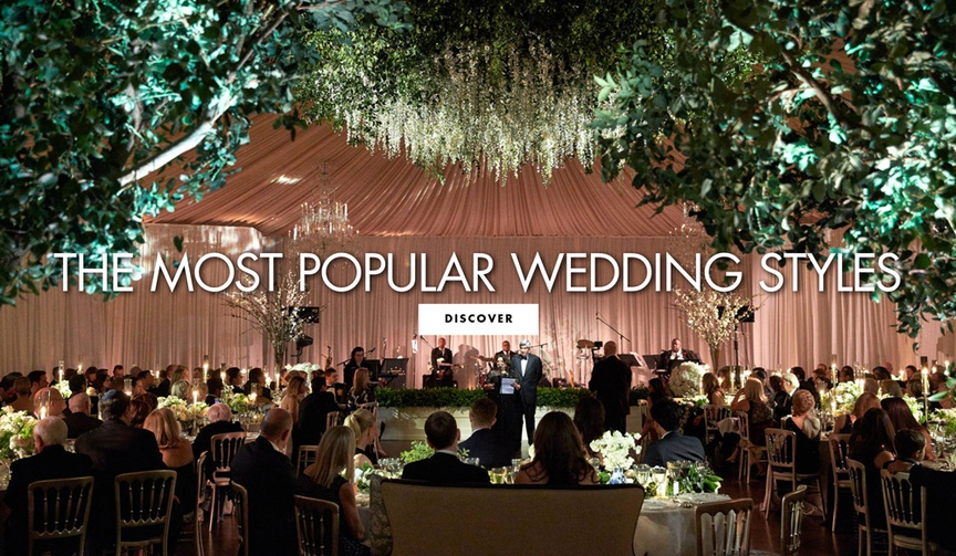 Your guide to the most popular wedding styles