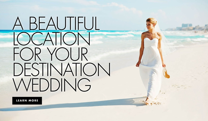 A beautiful location for your destination wedding or honeymoon Hyatt Zilara Cancun Playa Resorts