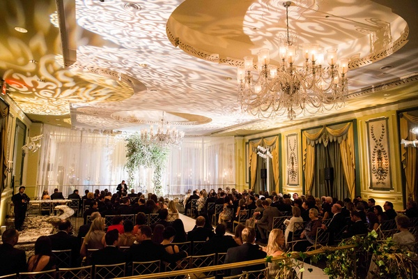 Jewish wedding at The Pierre hotel in New York City
