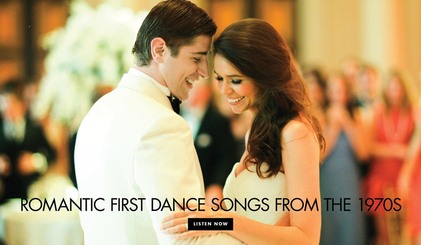 first dance songs from the 1970s, wedding songs from the '70s