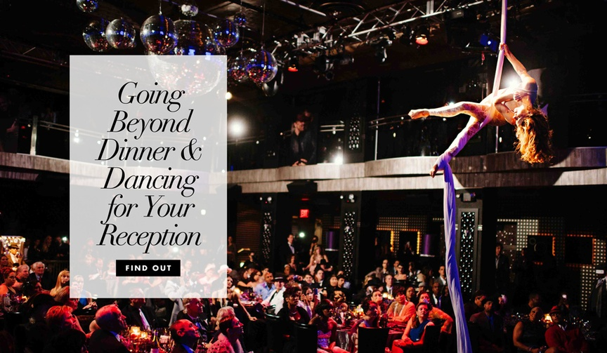 hiring performers for your wedding reception, additional entertainment