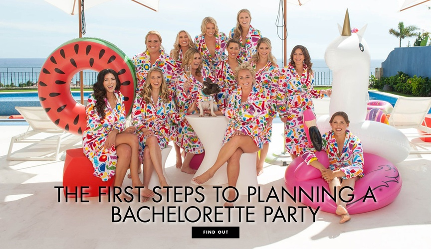 The first steps to planning a bachelorette party