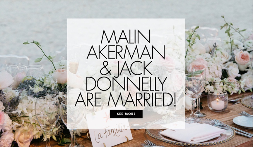 malin akerman & jack donnelly wedding in tulum, mexico