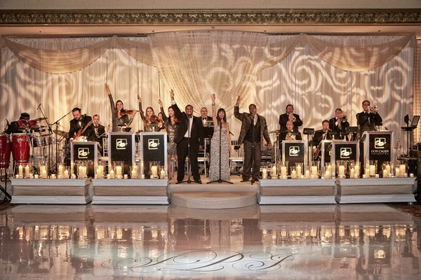 Don Cagen Orchestra performs for a wedding reception at The Ritz-Carlton Chicago