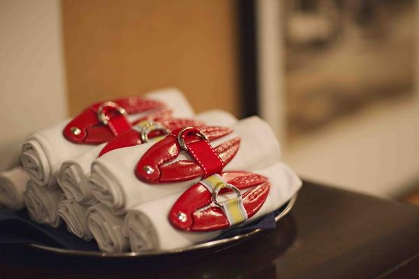 Lobster bake rehearsal dinner party favors