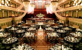 wedding reception at schermerhorn symphony center