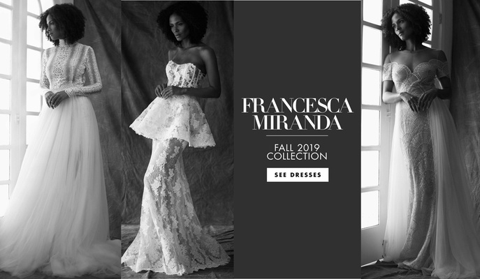 Ines Di Santo fall 2019 bridal collection wedding dress bridal fashion week