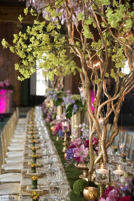 This decor created by Anthony Gowder Designs was captured at the Be Our Guest Planner Luncheon at th