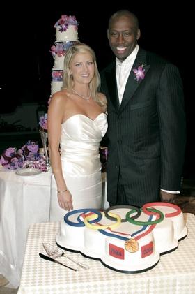 Al Joyner's unique grooms cake