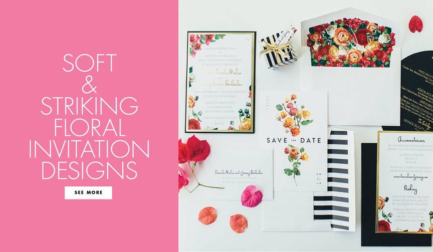 beautiful invitations invitation suites floral designs weddings feminine pretty unique soft