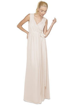 Chiffon convertible cap sleeve Abby dress by Joanna August 2016