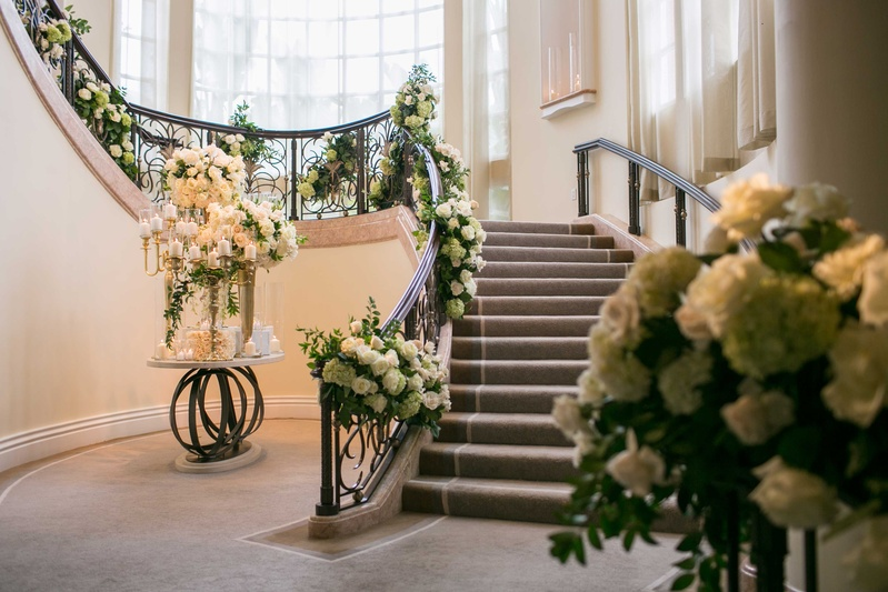 Reception Dcor Photos Staircase Embellished With