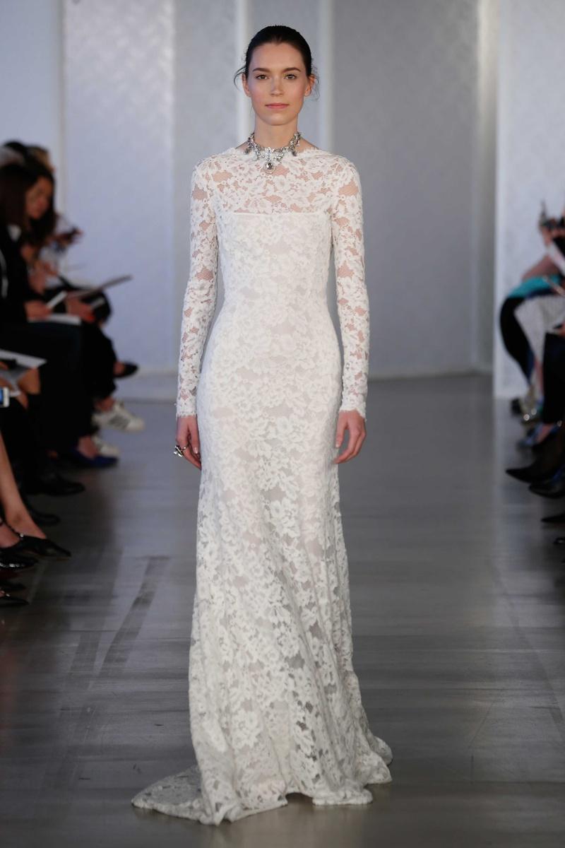 Oscar De La Renta Wedding Dresses.Wedding Dresses Photos Look 17 By Oscar De La Renta 2017