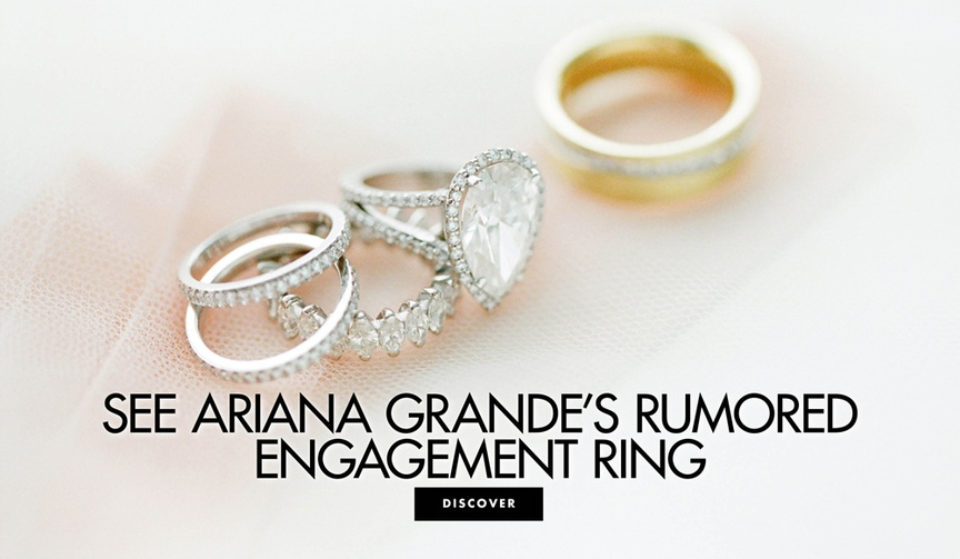 See Ariana Grande's rumored engagement ring from Pete Davidson