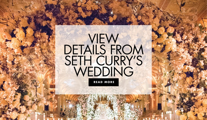 view details from seth curry and callie rivers malibu wedding