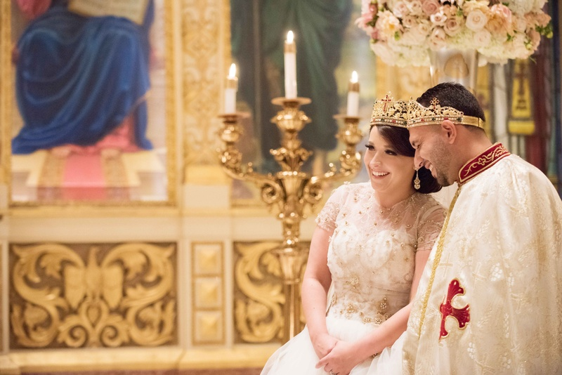 Ceremony Décor Photos - Greek Orthodox Church Wedding