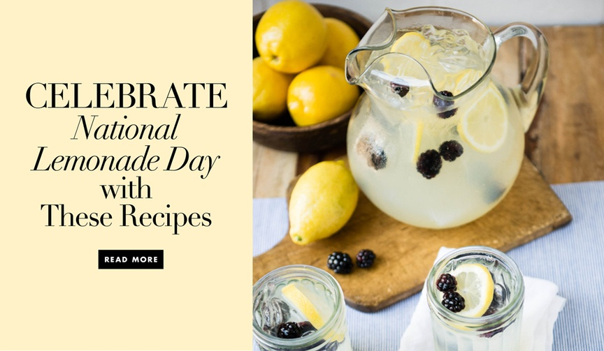 Lemonade cocktail recipes for wedding ceremony and reception drinks