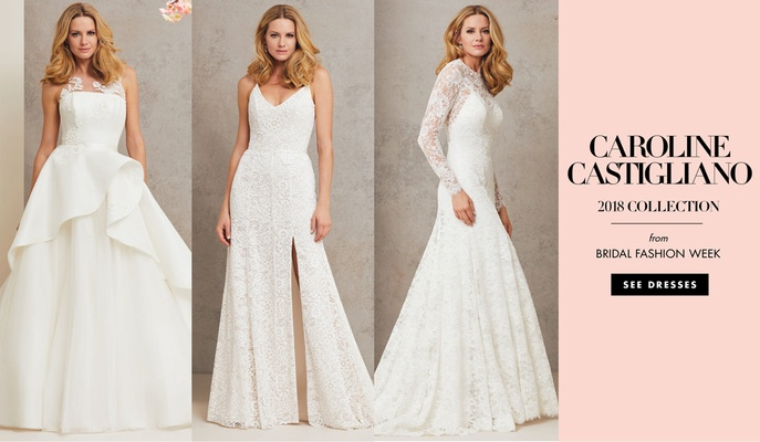 Caroline Castigliano 2018 bridal collection wedding dresses bridal gowns