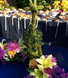 San Diego Zoo reception animal centerpieces
