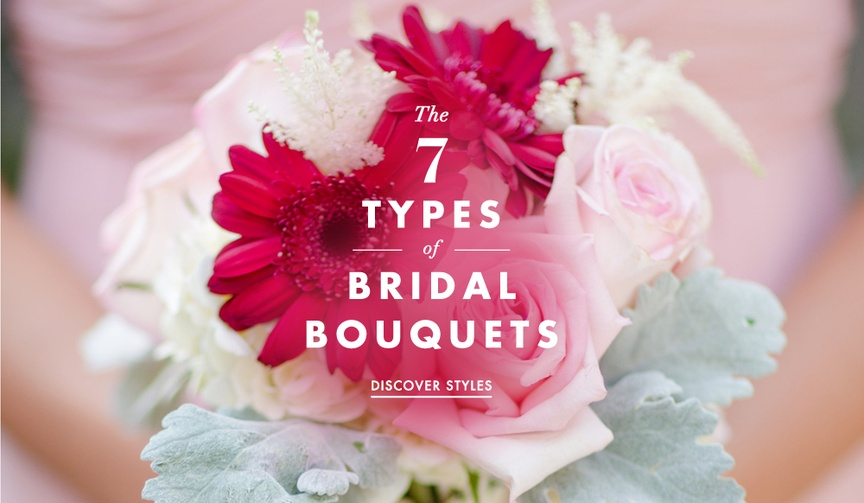 Wedding bouquet styles round cascade nosegay posy glamelia
