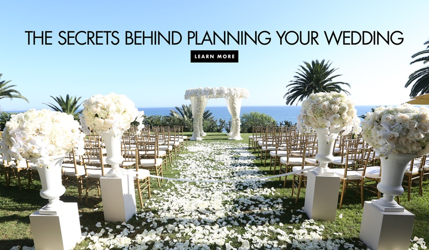 The secrets behind planning your wedding what your wedding planner does to help behind the scenes