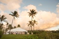 Tent wedding reception Chudney Ross Joshua Faulkner Montage Kapalua Bay wedding venue
