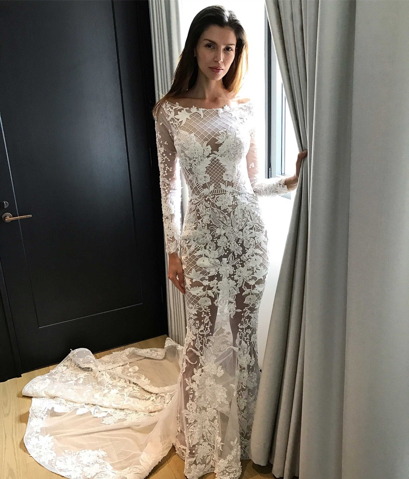 Wedding Dresses Photos Evalie By Pallas Couture Inside Weddings