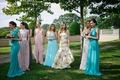 Bridesmaids at Oheka Castle