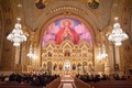 Saint Sophia Greek Orthodox Cathedral in Los Angeles with Original Runner Company aisle runner