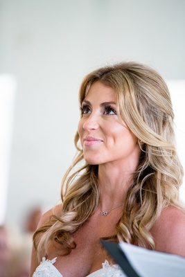 NFL quarterback Brock Osweiler's wife at wedding