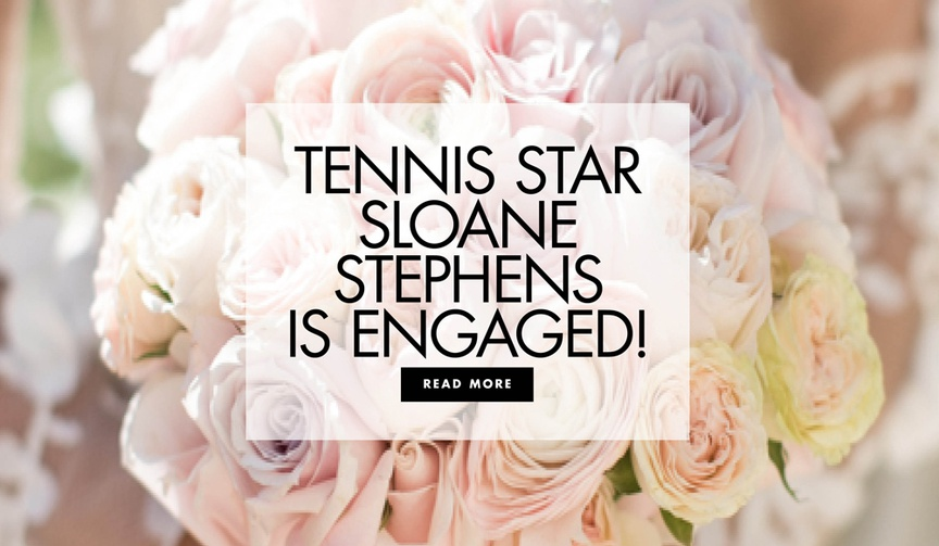 Tennis star Sloane Stephens and soccer player athlete Jozy Altidore are engaged