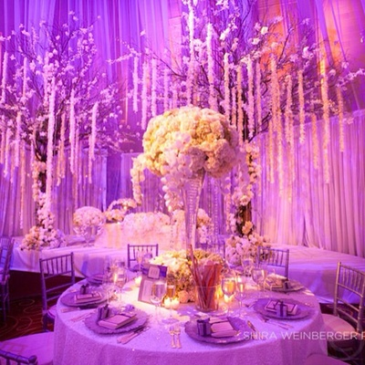 A stunning reception at NYC's Gotham Hall