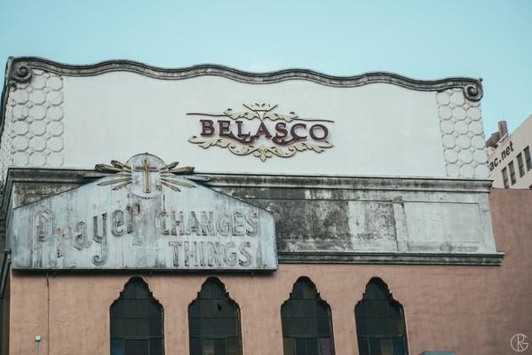 Belasco Theater in downtown LA wedding venue