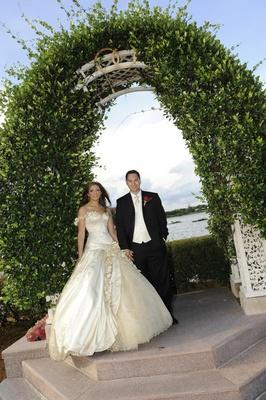 Disney's Fairy Tale Weddings couple in Florida