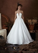 Isabelle Armstrong Spring 2018 bridal collection Nickie strapless silk ball gown wedding dress