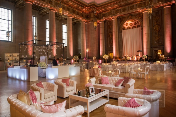 A glamorous reception at D.C.'s Mellon Auditorium!