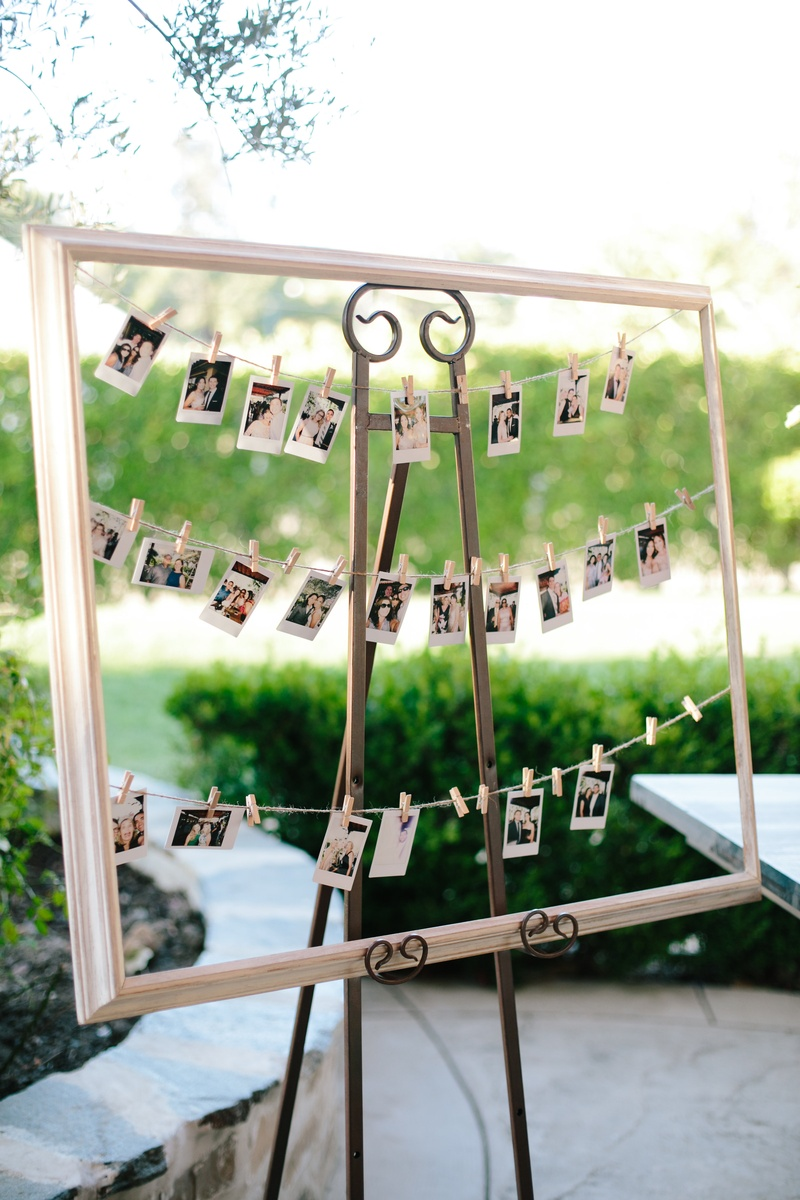 Invitations & More Photos - Display of Instant Photos - Inside Weddings