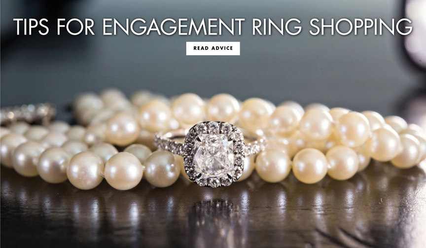 tips for engagement ring shopping