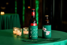 Wedding reception after party sergio garcia pro golfer masters winner 2017 koozies tables