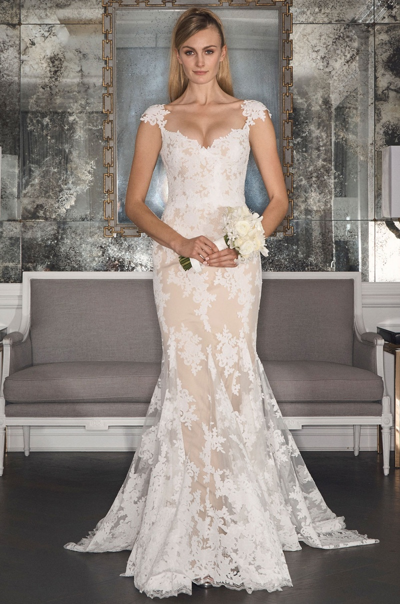 Gorgeous Wedding Dresses from Romona Keveža Collection Bridal Fall ...