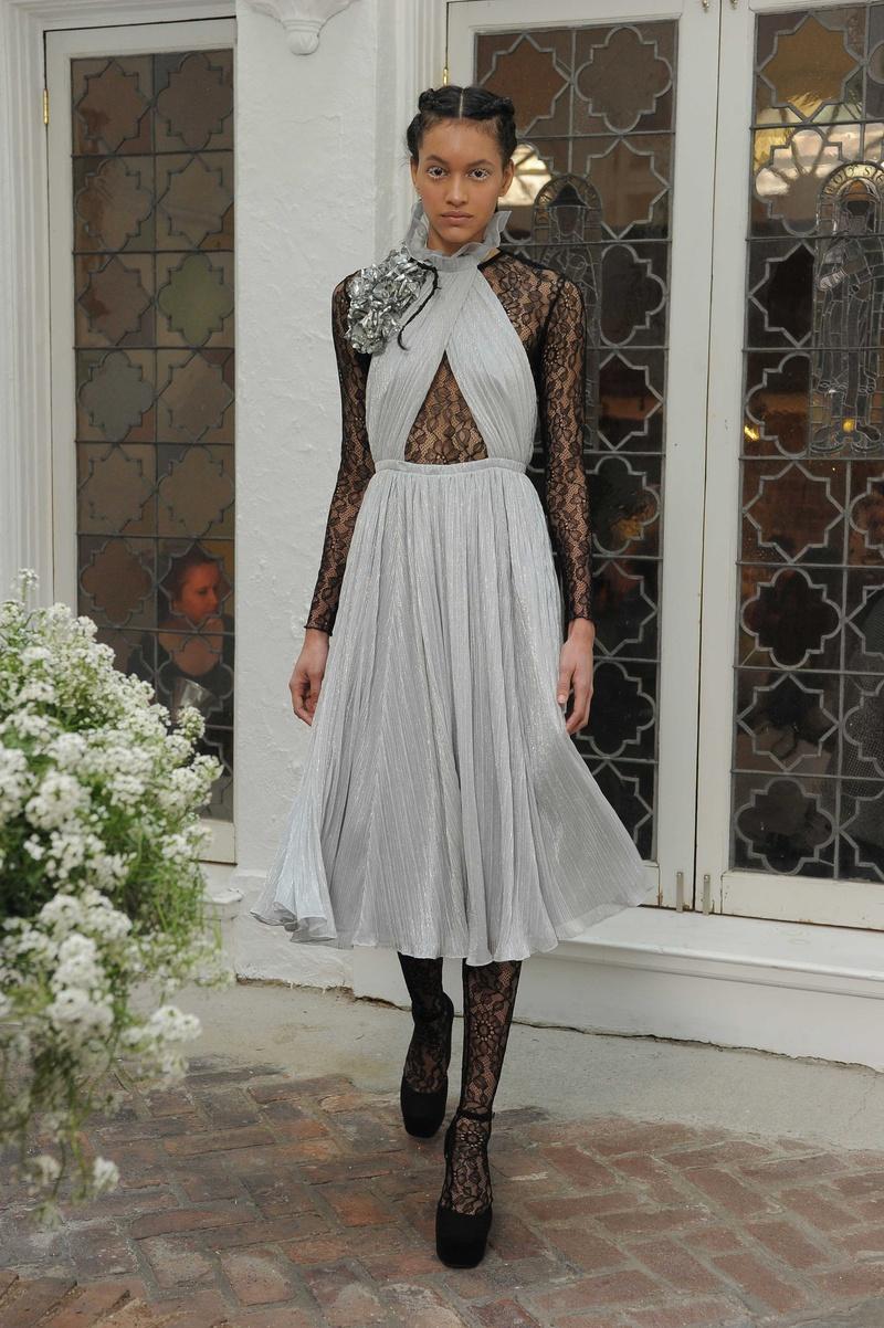 Grey Short Wedding Dresses