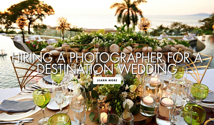 hiring a destination wedding photographer, how to find a photographer for destination weddings