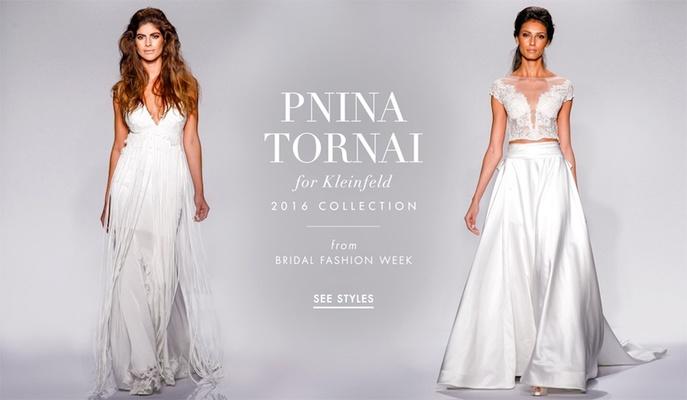 Pnina Tornai for Kleinfeld 2016 wedding dress collection