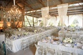 Melissa Claire Egan wedding reception in Santa Barbara barn ranch