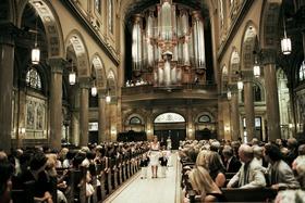 Church of St. Ignatius Loyola processional